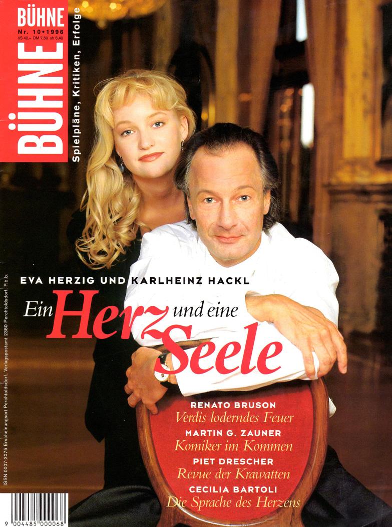 """[:de]""""Ein Herz und eine Seele""""[:en]Bühne, Eva Herzig über das süße Mädel im Arthur Schnitzlers Reigen.[:]"""