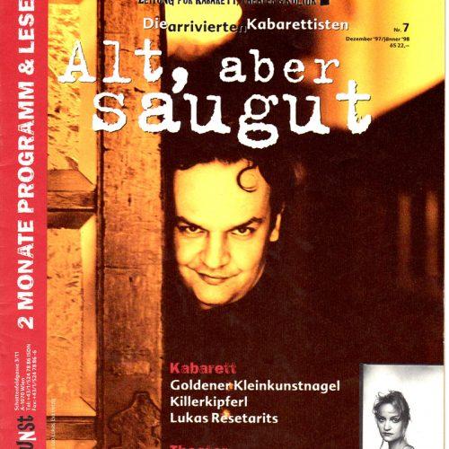 Klein und-Kunst, Nr. 7, Dez 1997, Titelblat