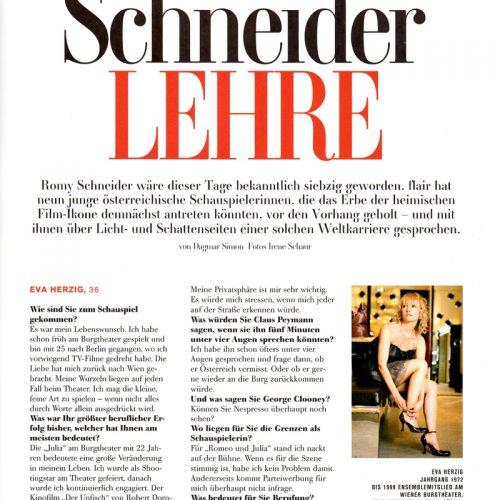 Eva Herzig | Flair | Oktober, 2008