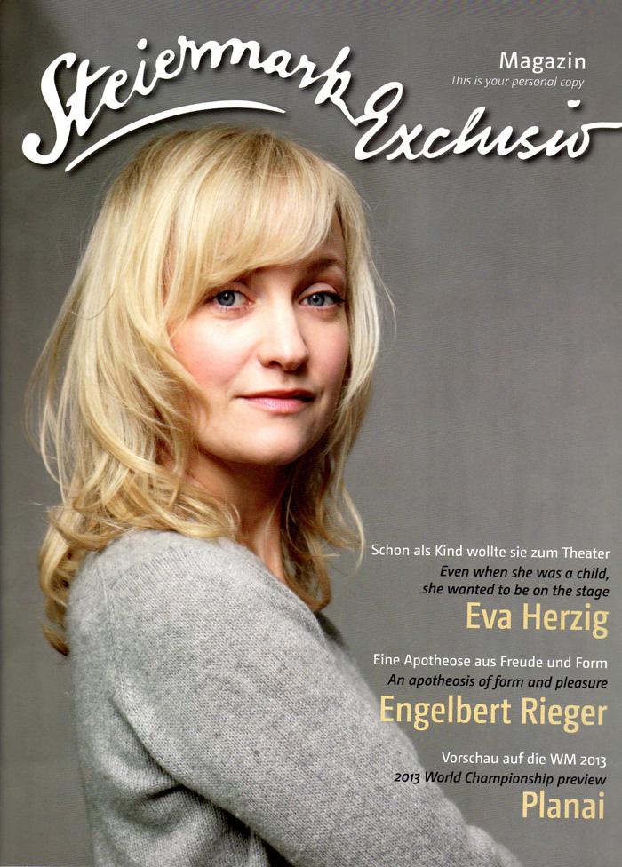 Schon als Kind wollte sie zum Theater -  Eva Herzig, ein Portrait