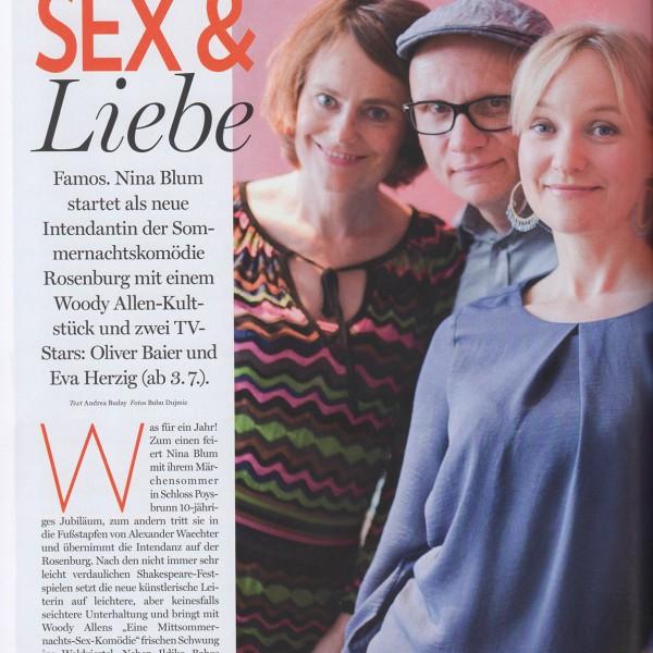 """look! wienlive (Juni 2015) """"Eine Mittsommernachts-Sex-Komödie"""""""